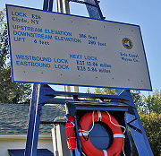 The sign at Lock E26.