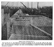 Partially completed lock in 1907.