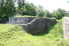 Enlarged Erie Canal Lock 33 built late 1830s